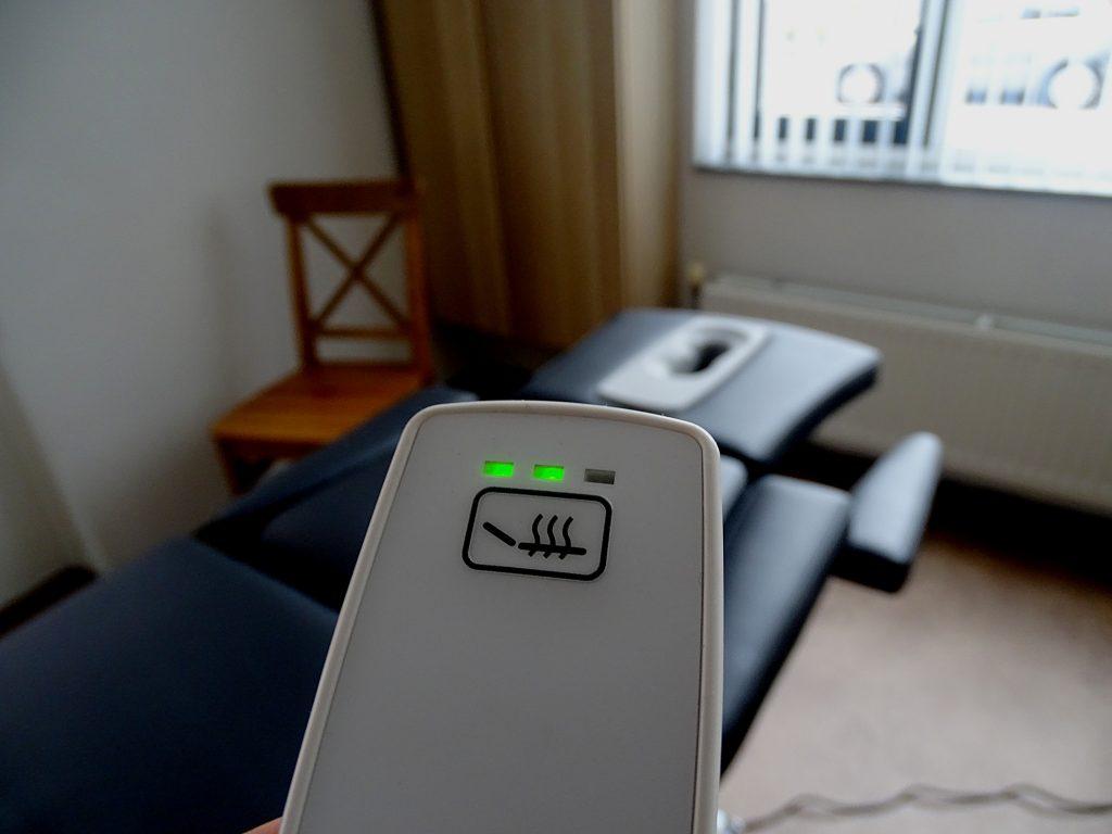 Verwarmde massagetafel